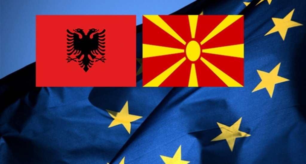 Makedonya ve Arnavutluk, AB üyelik müzakerelerine başlayabilir