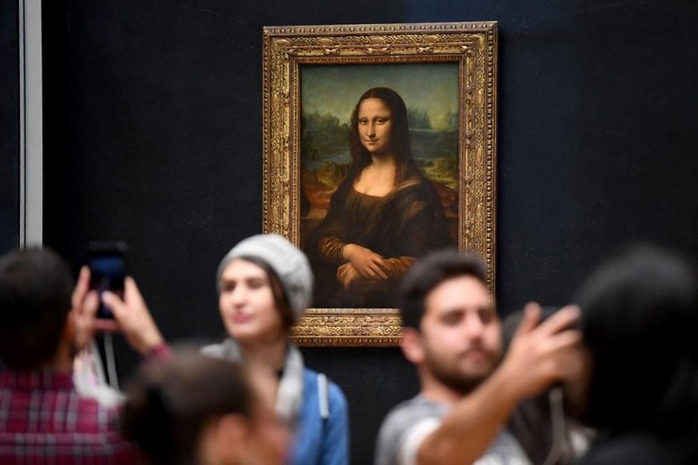 Louvre'da da Vinci sergisini 1 milyonun üzerinde ziyaretçi gezdi