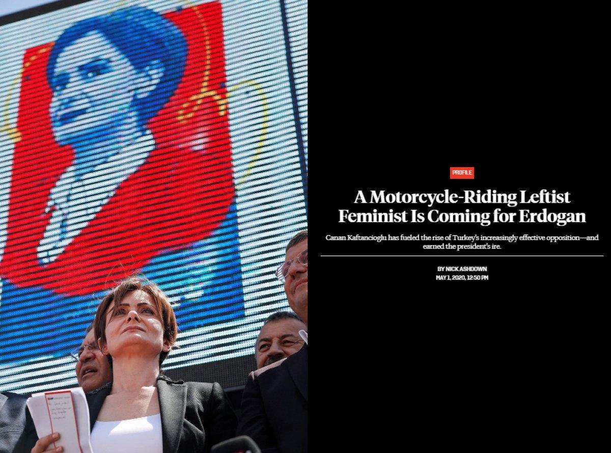 FP: 'Motosikletçi, solcu bir feminist, Erdoğan'a meydan okuyor'