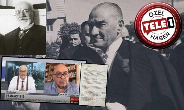 Venizelos'un Atatürk'ü Nobel Barış Ödülü'ne aday gösterdiği mektup ortaya çıktı