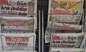 Gazete ve dergi satışları eriyor