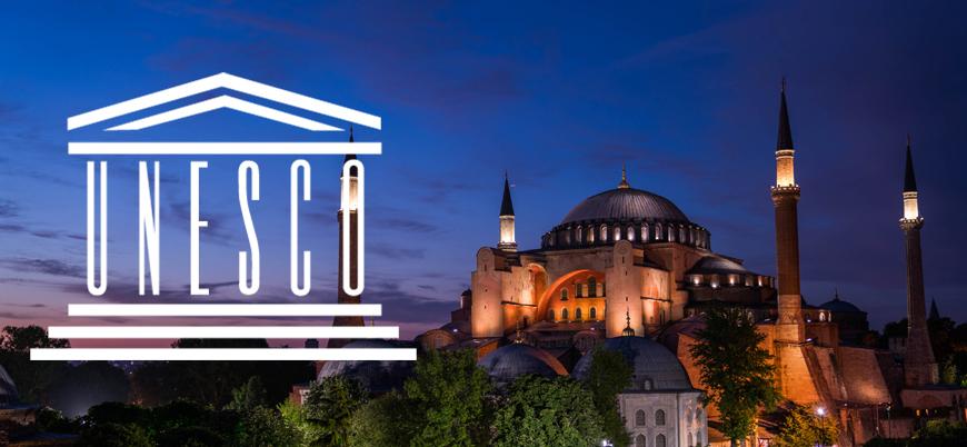 Türkiye'den UNESCO'ya Ayasofya sözü