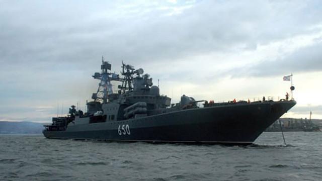 Yunanistan'ın savaş gemileri Ege'de…