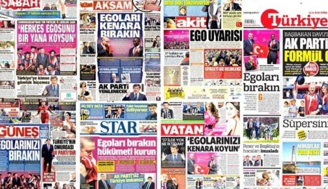 Erdoğan medyadan şikayetçi