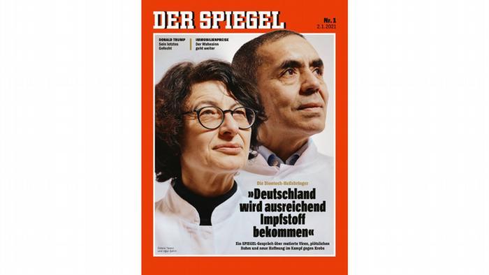 Der Spiegel'in kapağındalar…