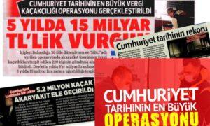 """Medyada, """"Cumhuriyet tarihinin en büyük operasyonu"""" klişesi – Faruk Bildirici yazdı"""