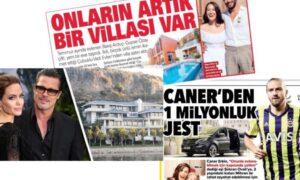 Caner Erkin'in milyonluk jesti, Gupse Özay'ın yeni villası – Faruk Bildirici yazdı