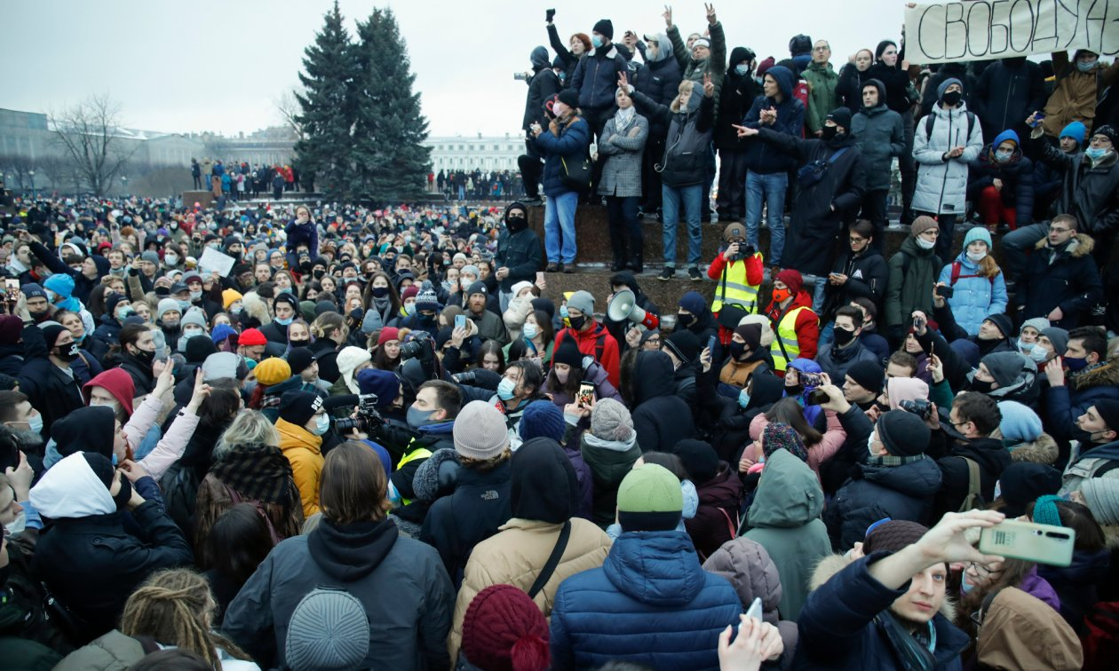Rusya'da Navalnıy gösterileri ve Avrupa medyası