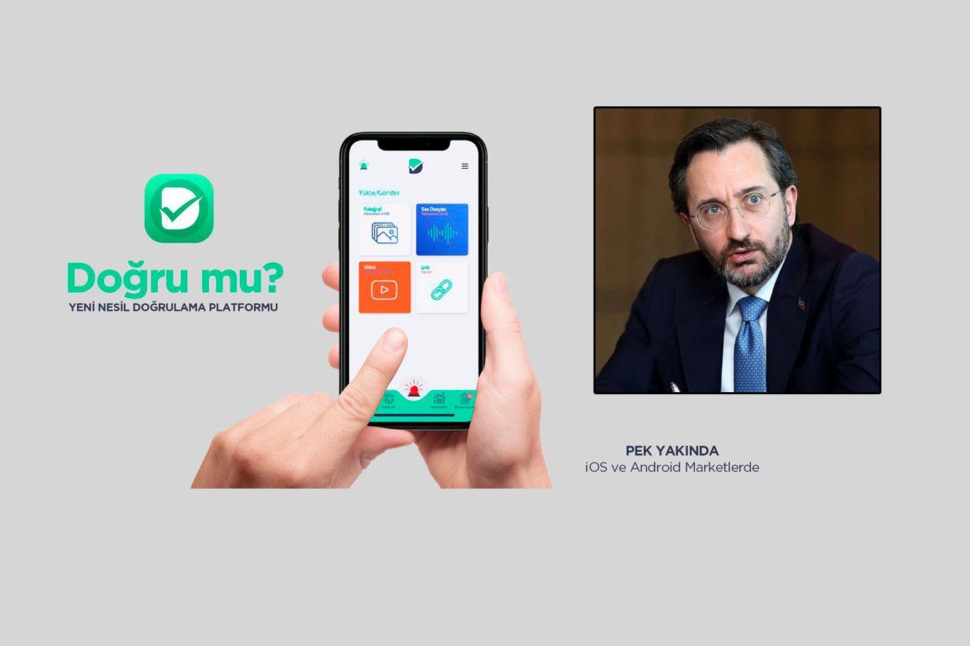 İletişim Başkanlığı'ndan 'DOĞRU MU?' platformu