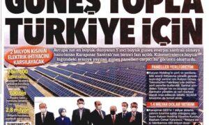Hürriyet'ten damada manşet jesti – Faruk Bildirici