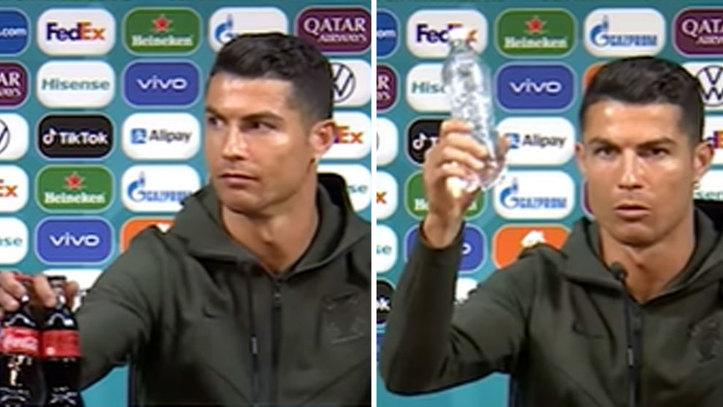Ronaldo'nun bir hareketi, Coca-Cola'ya 4 milyar dolara mal oldu