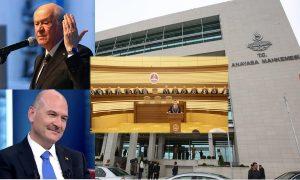 İktidar medyasından Bahçeli'ye Soylu ve Anayasa Mahkemesi sansürü – Faruk Bildirici