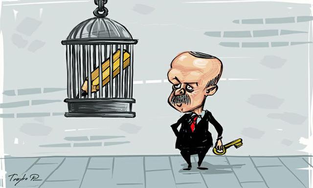 Erdoğan 'Basın Özgürlüğü Düşmanları' listesinde