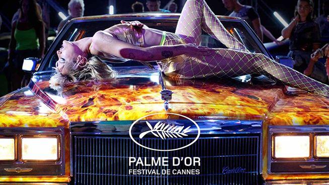 Cannes'da büyük ödül 'Titane' filminin