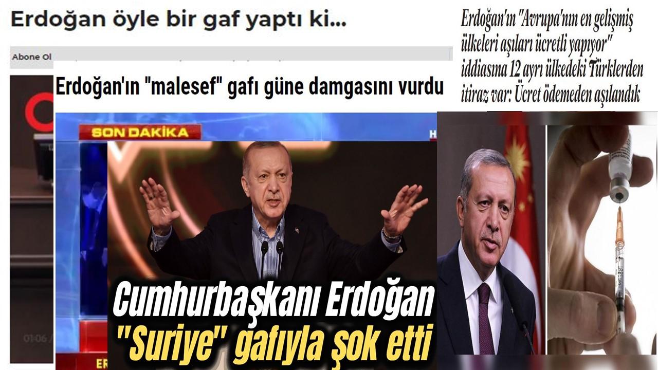 Erdoğan'ın dil sürçmeleri, bilgi hataları ve gerçeğe aykırı ifadeleri – Faruk Bildirici
