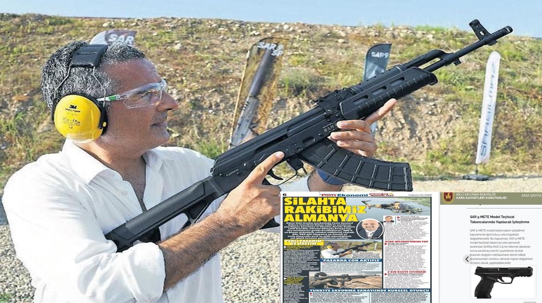 Silah firması tanıtan Hakan Çelik, tüfekli fotoğraf da çektirdi – Faruk Bildirici