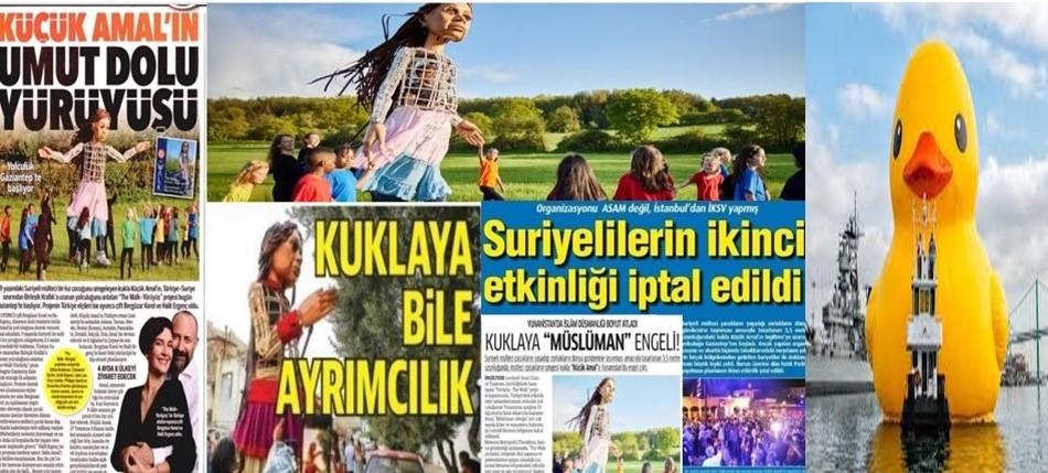 """""""Küçük Amal"""" yerine """"Dev şişme ördek"""" projesi Türkiye'den başlasaydı – Faruk Bildirici"""