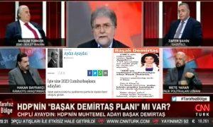 """Ahmet Hakan, Aydın Ayaydın'ın """"rüya""""sını gerçek sandı; konuklarına yorumlattı – Faruk Bildirici"""